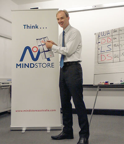 Damian McConnell, Course Director - MindStore Australia