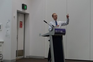 Conference speaking at Queensland Brain Institute
