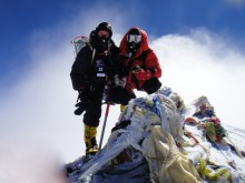 Goal achieved Summit of Everest