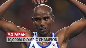 Mo Farah 1000m 2016 Olympic Champion Never never give up